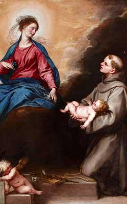 Saint Anthony Dying